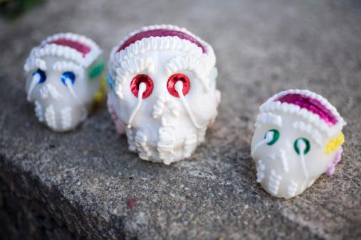 Day of the Dead Candy Skulls