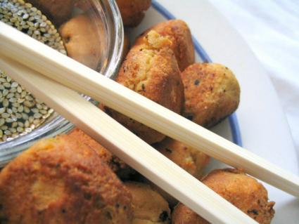 Oriental party food