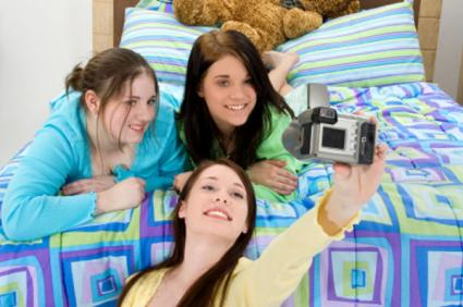 The teen slumber party is an institution and a rite of passage.