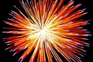Fireworks are a common sight during Chinese New Year celebrations.