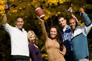 Plan plenty of football party game ideas.