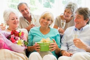Enjoy a retirement party planned in your honor.
