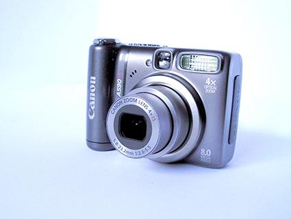 Digital 8 Megapixel Canon with Optical Zoom