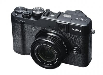 Fujifilm X20 zoom point and shoot camera