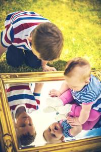 Mirrors as a Backdrop