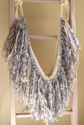 Crochet Newborn Fringe Hammock