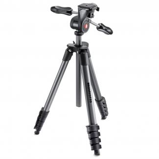 Manfrotto Compact Advanced Tripod with 3-Way Head