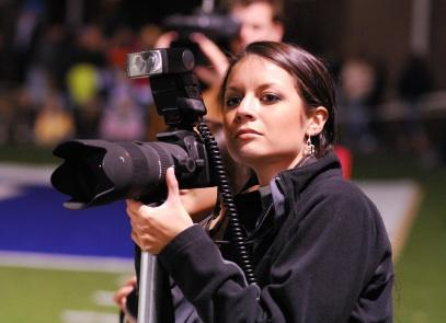 how to become a football photographer