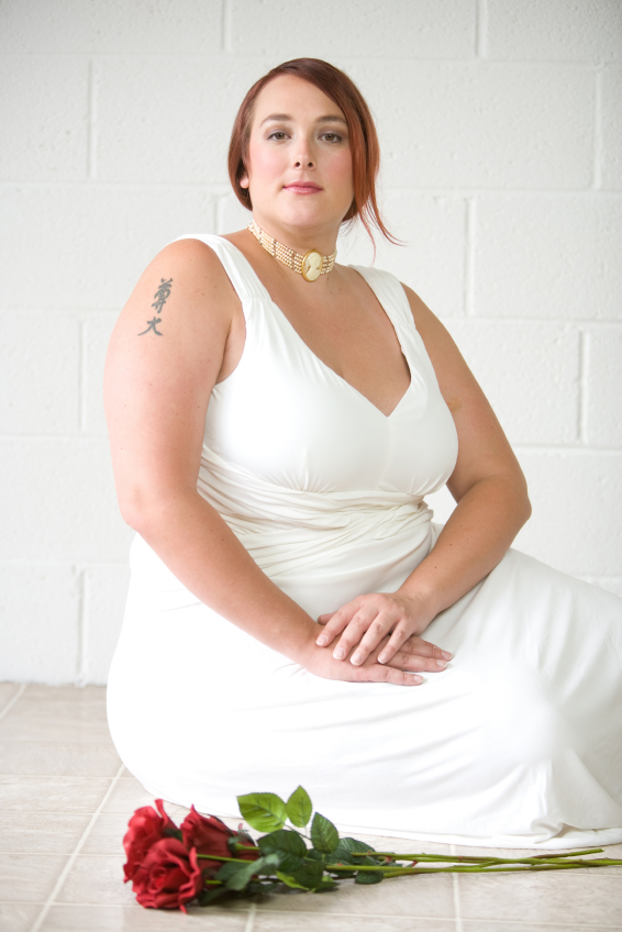 Stunning and flattering plus size