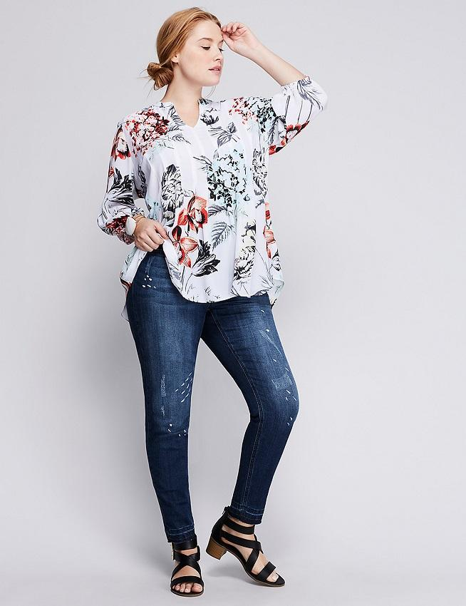 Women's Plus Size Jeans Style Pictures [Slideshow]