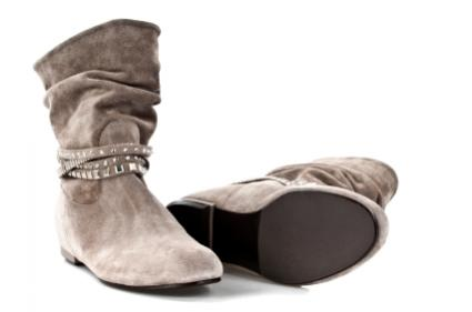 dressy suede boots