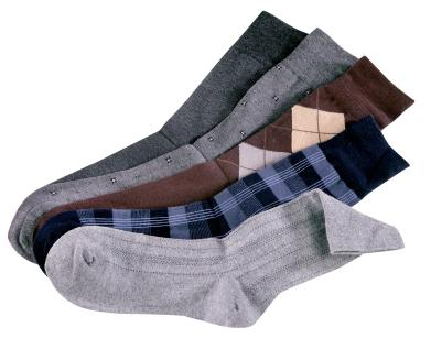 mix of socks