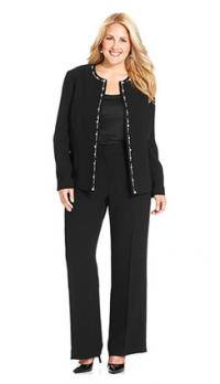 Where to Find Plus Size Formal Pant Suits