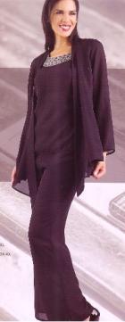 Plus size pants suits evening wear australia