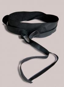 IGIGI Plus Size Obi Belt Black