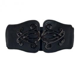 eVogues Cinch Belt Black
