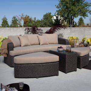 Hayneedle Wicker Sectional