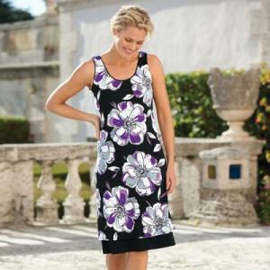 Plus Size Voyager Knit Reversible Tank Dress
