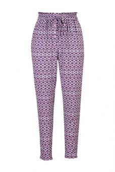 eShakti Tile Print Pants