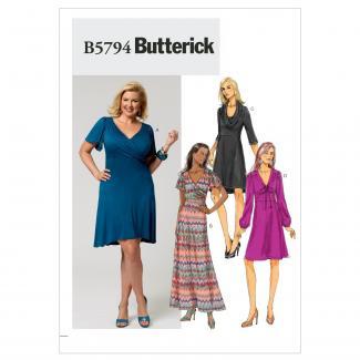 Butterick Patterns B5794B50 Misses'/Women's Dress Sewing Pattern