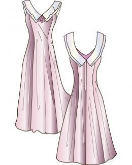 Princess dress from FashionPatterns.com