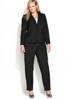 Calvin Klein Plus Size Suit Separates Collection from Macy's