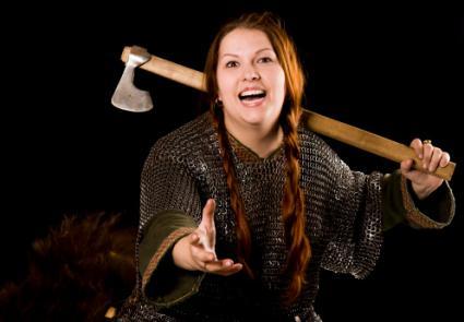 Warrior woman costume