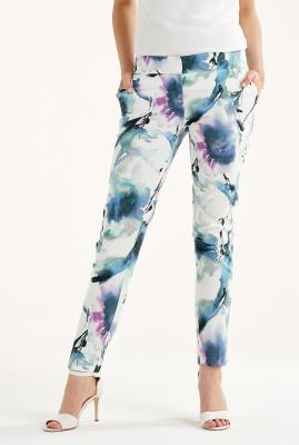 Watercolor Sateen 7/8 Pants