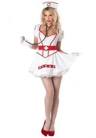 Women's Plus Size Nurse Heartbreaker Costume