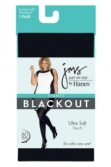 Hanes Just My Size Blackout Tights