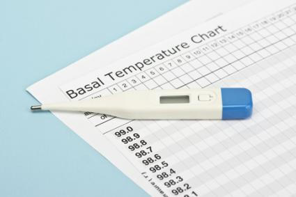 Basal temperature chart; © Sherry Young | Dreamstime.com