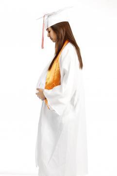 pregnant graduate