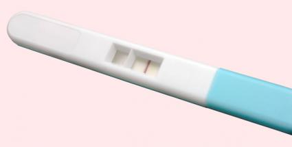 false pregnancy test negative