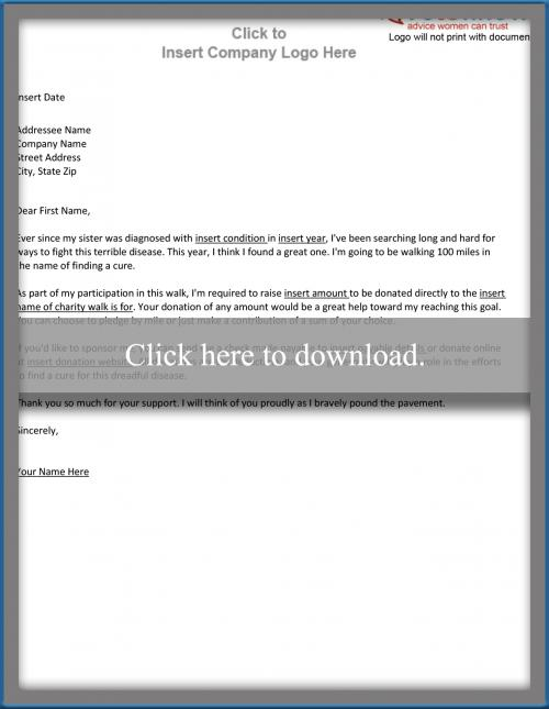 Sample Sponsorship Letter for an Individual – Sample of Sponsorship Letter