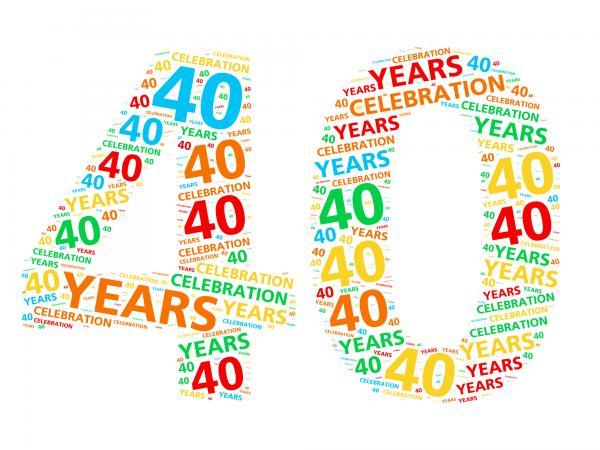 40 year birthday