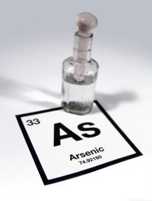 Arsenic in liquid form.
