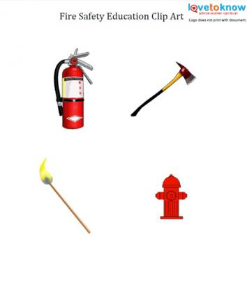 Fire Safety Education Clip Art