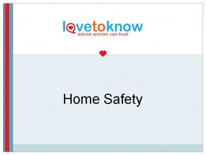 Home safety powerpoint presentation
