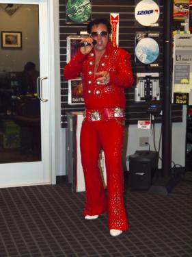 Elvis impersonator; copyright Rigucci at Dreamstime.com