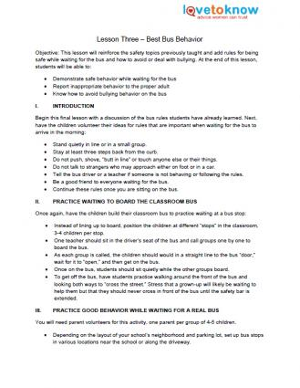 Worksheet Bus Safety Worksheets bus safety lesson plans for preschool lesson
