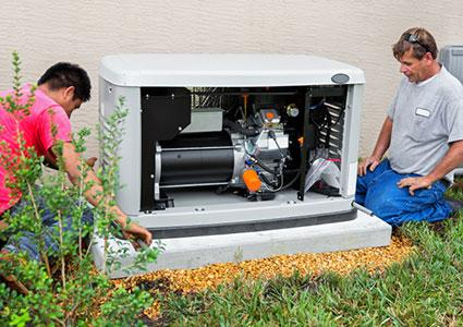 Installing a whole house emergency generator