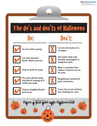 Halloween Safety Checklist
