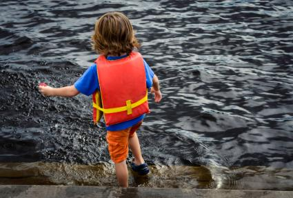 Water safety and children