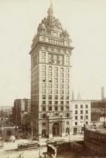 The Call Building after the 1906 earthquake.