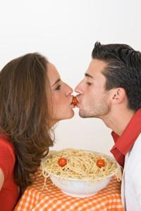 Treat your honey to a romantic dinner.