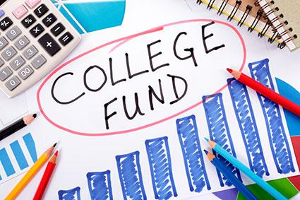 College fund planning graph