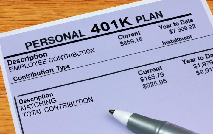 Personal 401K Plan
