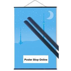 black poster hangers