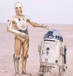Gone searching for R2D2, BBL