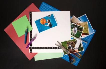 online printable scrapbook templates
